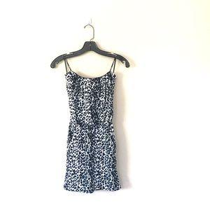 Leopard Print Dress w/ Pockets